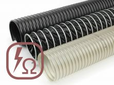 Antistatic and conductive hoses
