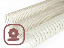 Suction and extract hoses for the wood industry